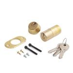 Комплект цилиндровых механизмов (50 мм) внеш./внутр. фикс./фикс. для электромех. замков 3 кл.