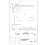 Ручки раздельные Avers H-1593-Z-CR-Морион
